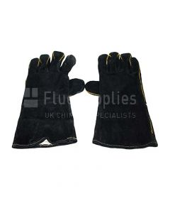 Pair of all black firegloves