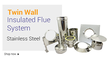 stainless steel twin wall