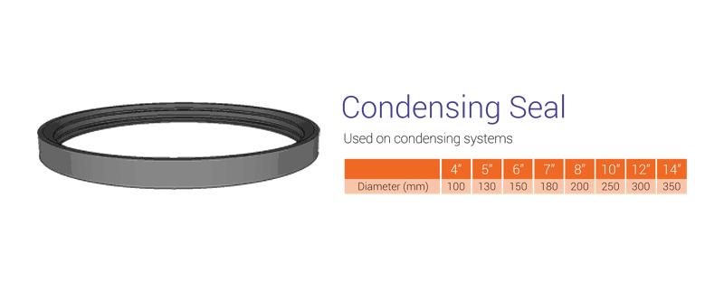 condensing seal
