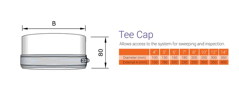 Tee Cap Twin Wall